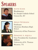 'Risk of Education' Speakers
