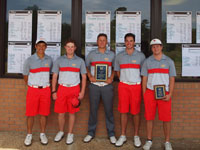 Men's Golf Wins First Tournament