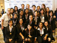 Photo: UST HOSA Members