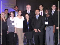 ACS Students with Dr. Thomas Malloy