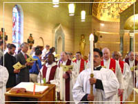 St. Mary's opening mass