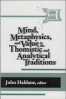 Cover of Publication: Mind, Metaphysics, and Value in the Thomistic Cover of Publication and Analytical Traditions