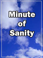 graphic: minute of sanity
