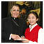 photo: Heidi Schruben and Cardinal DiNardo