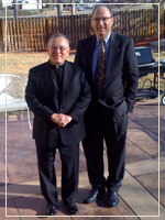 Photo: Archbishop Charles Chaput and Dr. John Hittinger