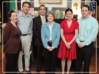 Photo: Houston Young Professionals Supporting Irish Studies