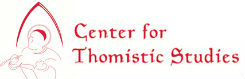 Logo for Center for Thomistic Studies