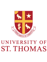 The official logo of the University of St. Thomas in Houston