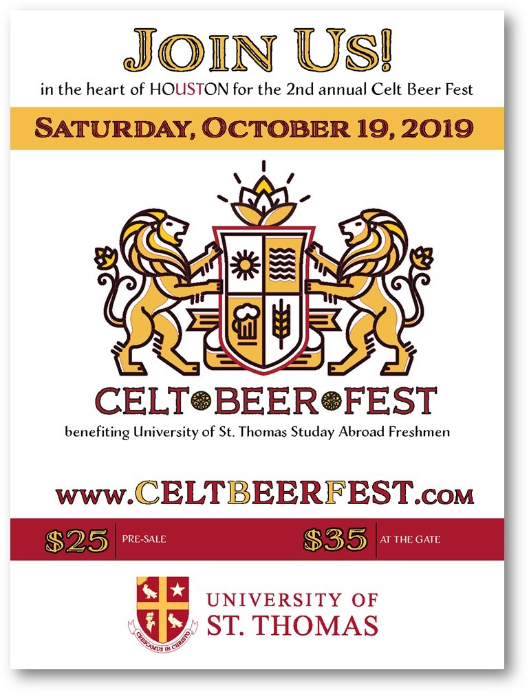 2nd Annual UST Celt Beer Fest