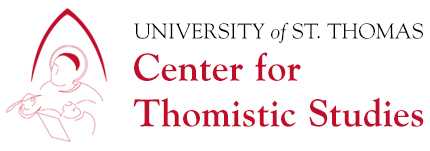 __Centers - Center for Thomistic Studies News Article